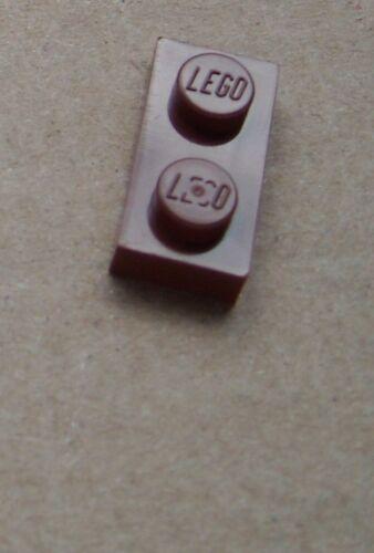 3023 Neu Platten in 1 x 2 rddish brown Lego 50 Stück Platte 1x2 braun