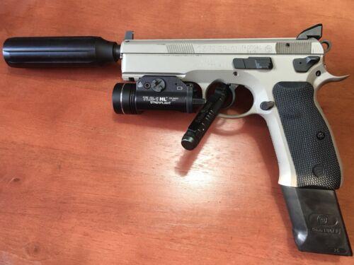 KAW Valley Precision XL Extra Long Slim 9mm Linear Comp/compensator 1/2x28  TPI