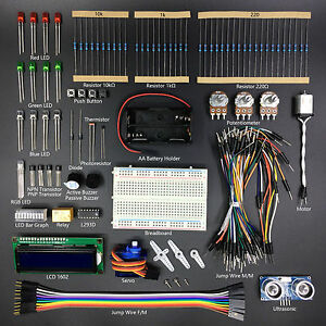 Freenove-Ultrasonic-Starter-Kit-for-Arduino-without-Uno-R3-Detailed-Tutorial