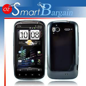 Black-Soft-Gel-TPU-Cover-Case-For-HTC-Sensation-Film