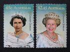 Australian Decimal Stamps: 2002 Queen's Golden Jubilee - Set of 2 MNH