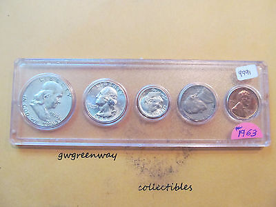 """1972 birth years set in withman holder* 6 coin/"""" FREE SHIPPING/"""" other years also"""