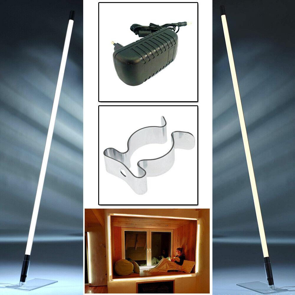 LED Leuchtstab Weiß Lichtstab Beleuchtung Leuchte Lampe Fernbedienung optional