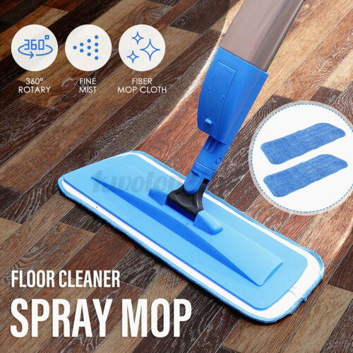 US 360° Rotary Water Spray Mop Water Spraying Floor Cleaner Mop Bath Sweeper