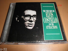 ELVIS COSTELLO & ATTRACTIONS best of 22 HITS cd EVERYDAY I WRITE BOOK alison