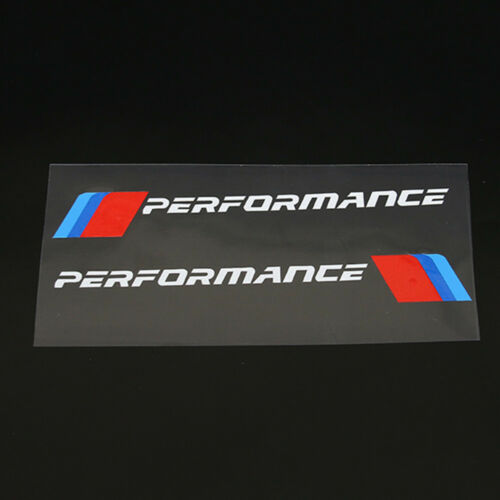 2pcs M Performance Rearview Mirror Decal Sticker for BMW f10 f20 f30 f01 f15 e90