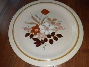 "Vintage Set of 4 KINGSBURY Stoneware Collection ""Dogwood"" Dinner Plates 11""Japan"