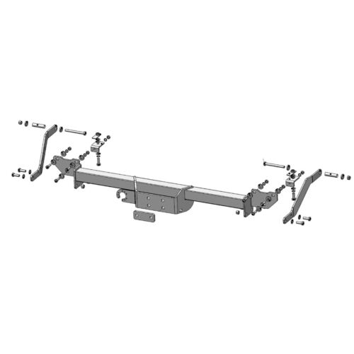 PCT Towbar for Citroen Relay Chassis Cab Short Overhang 2006 On Flange Tow Bar