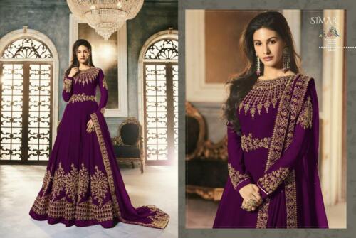 wine color suit ethnic kameez party wear designer wedding salwar kameez women