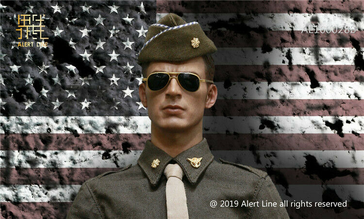 Alert Line WWII US Army 16th Uniform Suit Set F 12'' cifra modellolo giocattolo AL100028B