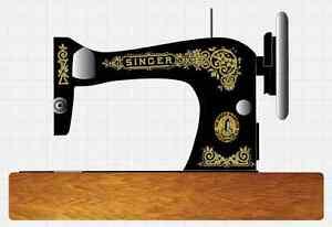 Antiques Singer Model 28/128 Gingerbread Style Sewing Machine Restoration Decals Restoration & Care
