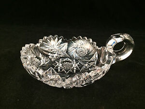 Round-Glass-Scalloped-Dish-Bowl-with-Handle-5-034-Diameter