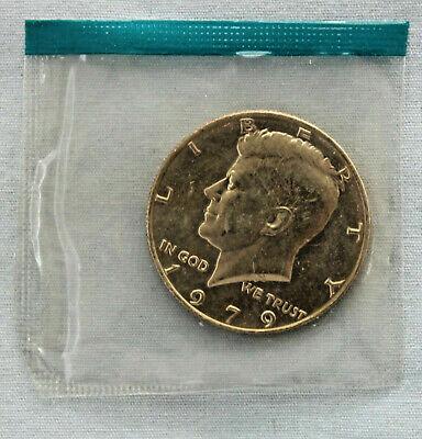 1972 D Kennedy Half Dollar ~ Choice Uncirculated in Original Mint Cello