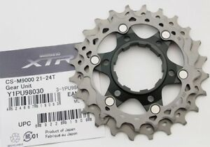 Bicycle Components & Parts Cassettes, Freewheels & Cogs Rapture Shimano Xtr Cs-m9000 11 Speed Sprocket Wheel 21-24t Cog/gear Unit For 11-40t Quell Summer Thirst