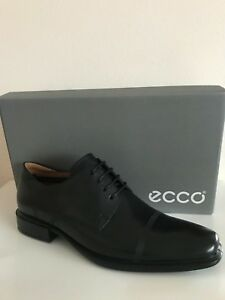 a41d6a906a4 NEW ECCO CAIRO CAP TOE TIE OXFORD MEN S LEATHER SHOES BLACK