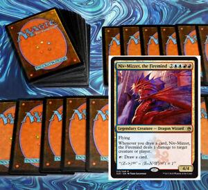 mtg-BLUE-RED-IZZET-NIV-MIZZET-COMMANDER-EDH-DECK-Magic-the-Gathering-100-cards