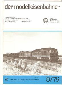 Intelligent Ddr Zeitschrift Modelleisenbahn Der Modelleisenbahner Heft 8 August 1979 Neueste Mode
