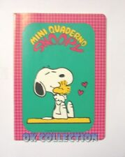 QUADERNO VINTAGE A5 righe _ SNOOPY MINI QUADERNO by Auguri Mondadori anno 1984 b