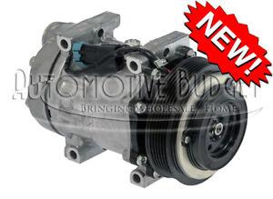 A/C Compressor w/Clutch for Volvo / White Trucks - Heavy Duty Version - NEW