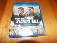 When The Game Stands Tall Football Sports Drama Blu-ray Disc + Dvd Set