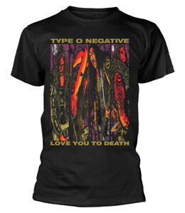 Type O Negative 'Love You To Death' (Black) T-Shirt - NEW & OFFICIAL!