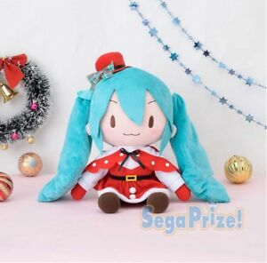 Hatsune Miku Christmas Outfit.Details About Vocaloid Hatsune Miku Christmas Ver 30cm Plush Sega 100 Authentic