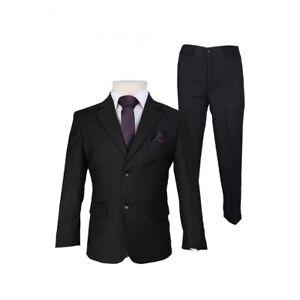 Boys Tuxedo Prom Suits Boys Black Suit Slim Fit Suit Page Boy Suits