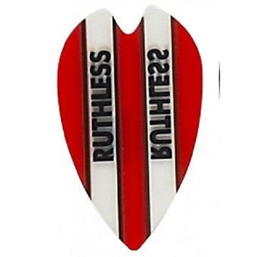 RED RUTHLESS RETRO SHAPE CLEAR PANEL FLIGHTS