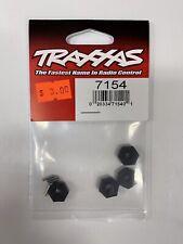 4 Traxxas 7154 12mm Hex Wheel Hubs w//Axle Pins 1//16