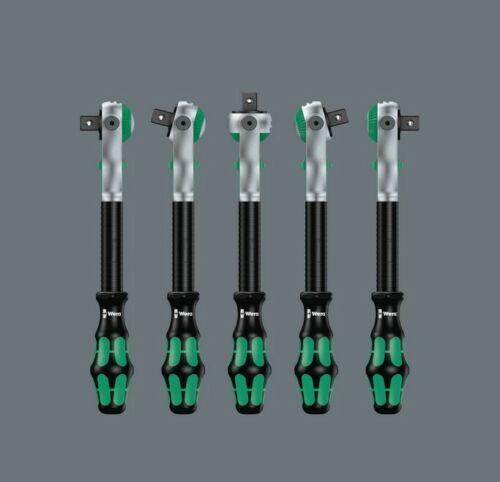 """Wera 8000 B SB Cyclope 05073261001 Speed-FLINGUE avec 3//8/"""" Clé à cliquet ouvre-bouteille"""