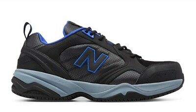 3edc78b8a5 New Balance 627 steel toe MID627BB black blue sneakers 9.5 No Slip  Industrial | eBay