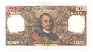 Billet-100-francs-Corneille-TTB-1973