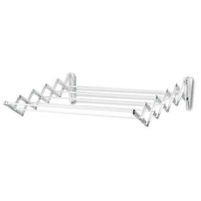 Polder Wall-Mount 24-Inch Accordion Clothes Dryer, White New
