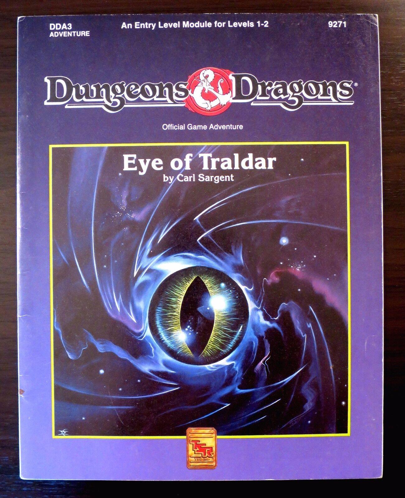 DDA3 Eye of Traldar - Dungeons & Dragons