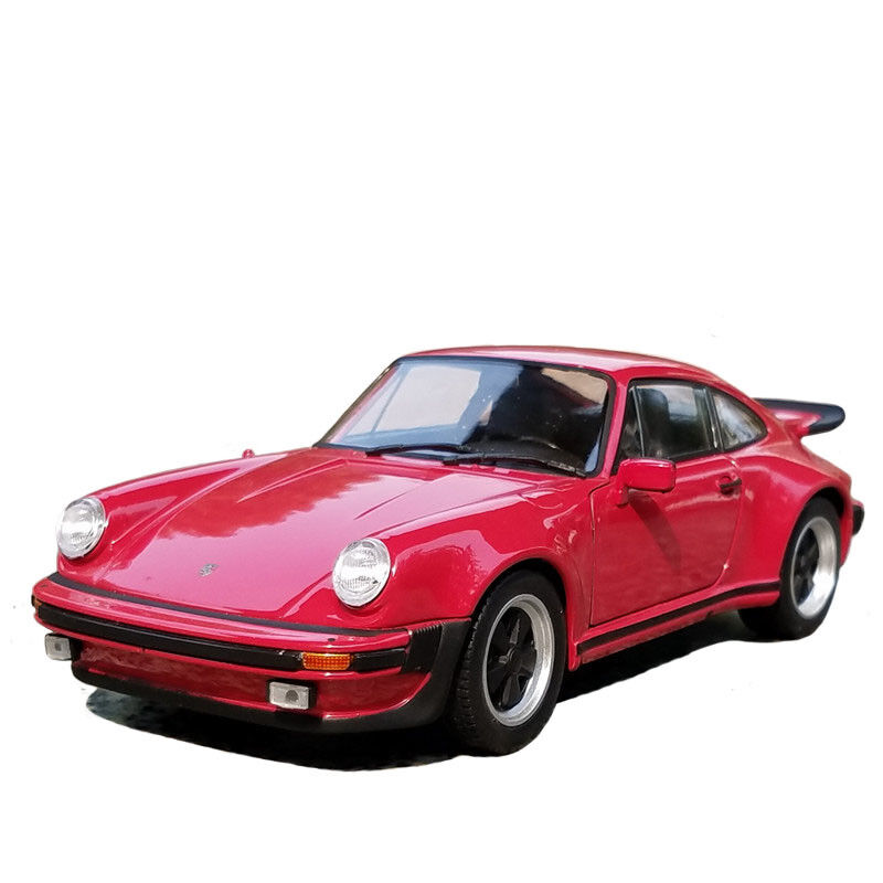 Porsche 911 Turbo 1974 Model Cars Toys 1 24 Collection & Gifts Red Alloy Diecast