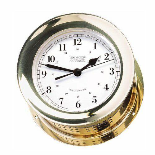 Weems Plath Endurance Ii 115 Ship S Bell Clock For Sale Online Ebay