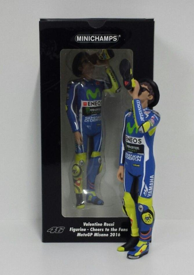Minichamps  Valentino Rossi 1 12 Figure Motogp Victory Drink Gp Misano 2016 nouveau  sortie de vente pas cher en ligne