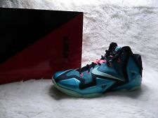 size 40 a803d e0145 item 4 Nike Lebron XI 11 South Beach Mens Size 10.5 Teal Pink Black  Basketball FREE S H -Nike Lebron XI 11 South Beach Mens Size 10.5 Teal Pink  Black ...