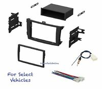 Car Stereo Radio Install Dash Mount Kit Combo For Some 2012 2013 Toyota Corolla