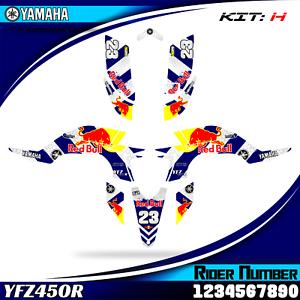 yamaha yfz 450r yfz450 2003 2004 2005 2006 2007 2008 decals graphics stickers