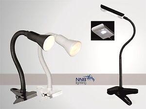 Lampade Scrivania Ufficio : Luce morsetto nero bianco lampada da tavolo scrivania ufficio w