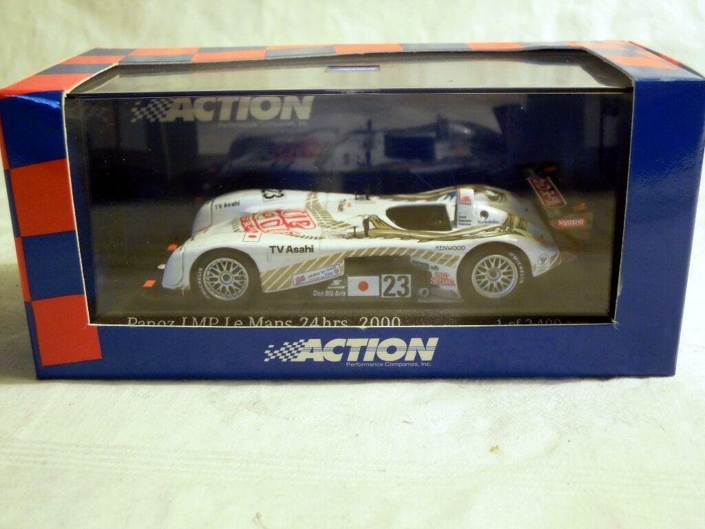 Action ac4008823  PANOZ LMP ROADSTER, Le Mans 2000, équipe Dragon  23, NOUVEAU & NEUF dans sa boîte
