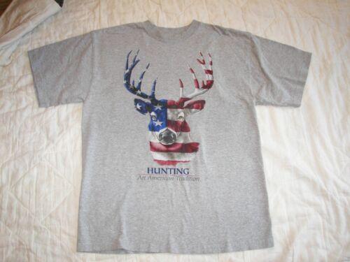 Hunting An American Tradition T-Shirt - M - Americ
