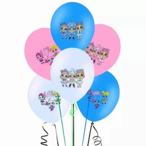 "6-20PCS LOL SURPRISE 12/"" LATEX KIDS BIRTHDAY BALLOONS FOR PARTY DECORATION"