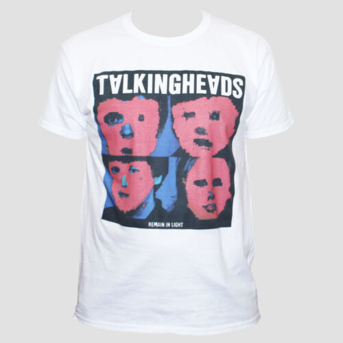 Talking Heads T Shirt-New Wave Art Rock Festival Graphic Band Mens Womens Top