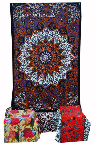 Hippie Mandala Tapestry Multi Wall Hanging Indian Throw Bedspread Dorm Tapestry