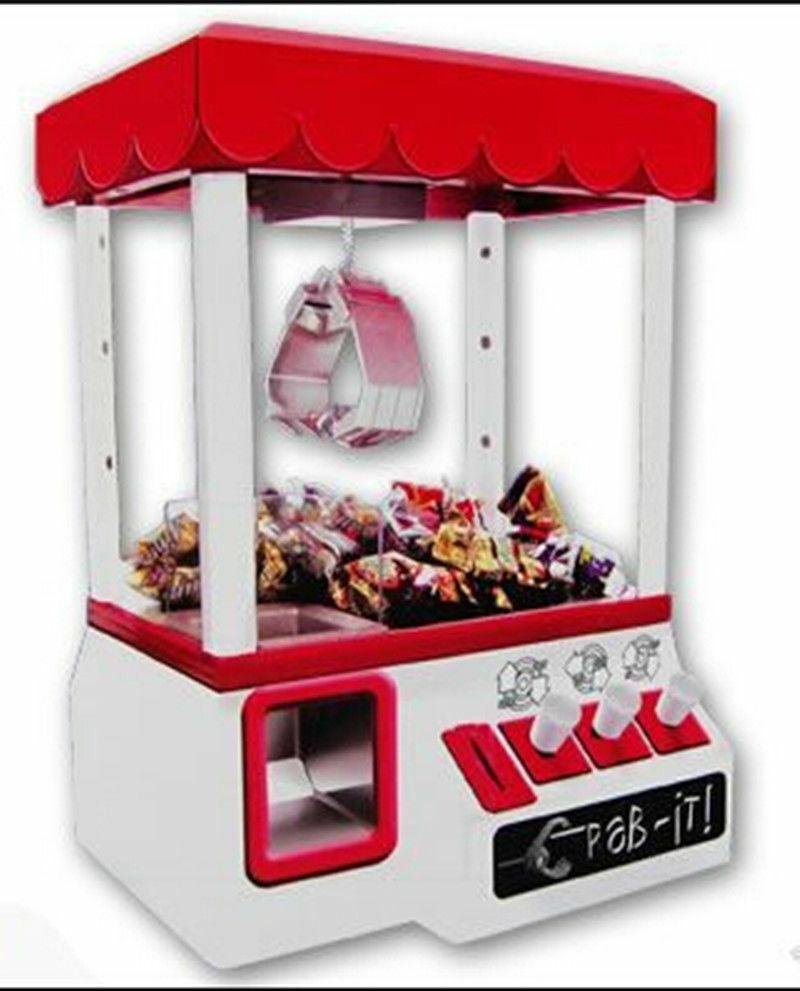 Máquina De Dulces Electrónica Juego Arcade Grabber Premio Carnaval Garra