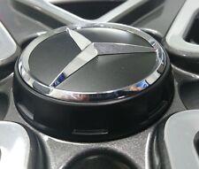 Genuine Mercedes-Benz Alloy Wheel AMG Centre Lock Design Cap - Black/Silver Star