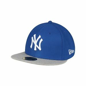 new era cap 59fifty new york yankees ny grau nba blau. Black Bedroom Furniture Sets. Home Design Ideas