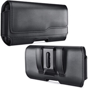 Black-Leather-Belt-Clip-Case-Pouch-for-iPhone-11-Pro-MAX-Fit-with-Otterbox-Case